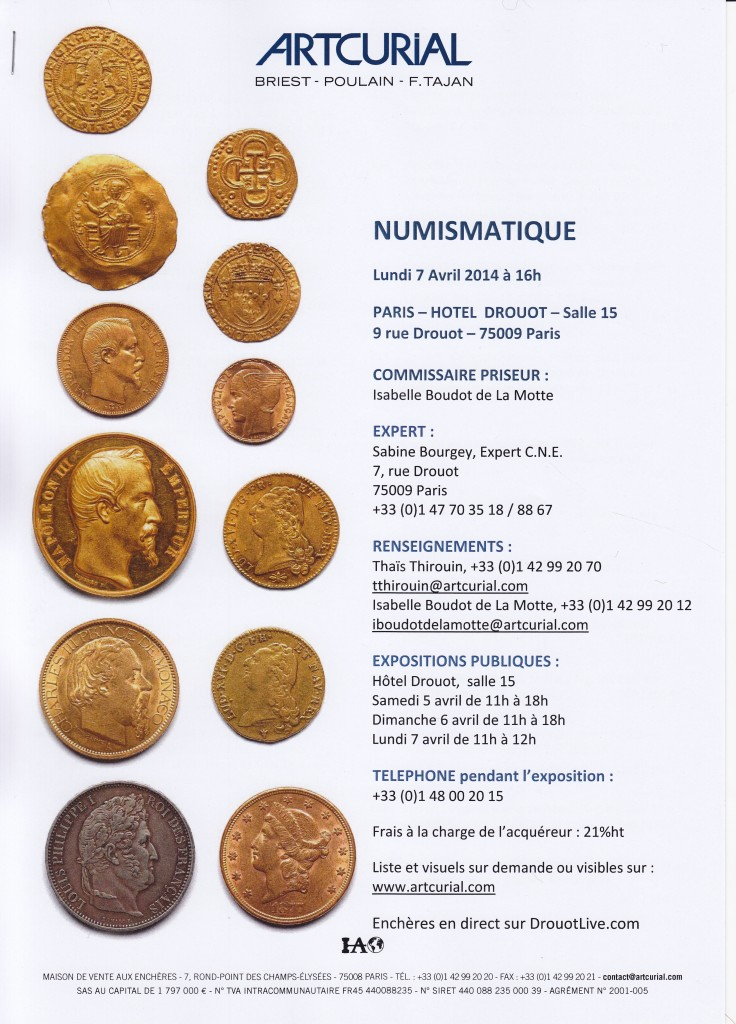 2014-04-07 - Artcurial - Catalogue